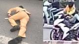 Nam thanh niên điều khiển xe máy tông gục cảnh sát giao thông có thể bị khởi tố tội giết người