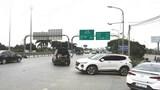 """Nút giao """"nghịch"""" trên cao tốc Hà Nội - Bắc Giang"""