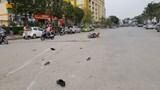 Hà Nội: Truy tìm xe bán tải bỏ trốn sau khi tông trọng thương 2 cha con