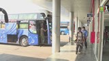 Hà Nội kiểm tra đột xuất việc khử khuẩn đối với xe buýt, xe khách