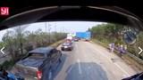 Hà Nội: Công nhân sửa đường bị xe đầu kéo đâm tử vong
