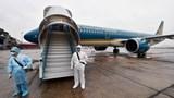 Vietnam Airlines khử trùng tàu bay tuyến quốc tế về Việt Nam