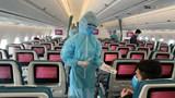 """Bên trong những chuyến bay Vietnam Airlines về từ """"tâm dịch"""" châu Âu"""