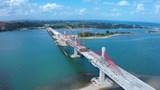 Cầu Cửa Đại là 1 trong 8 công trình chào mừng Đại hội Đảng bộ tỉnh Quảng Ngãi