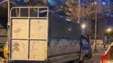 Hà Nội: Cảnh sát 141 phát hiện xe tải chở hơn 50.000 khẩu trang lậu đi tiêu thụ