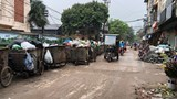 Phố An Dương, phường Yên Phụ: Người dân khổ vì điểm tập kết rác thải