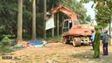 Huyện Thạch Thất giải tỏa lấn chiếm hành lang an toàn giao thông