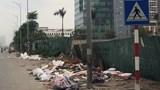 Công an quận Tây Hồ nói gì về bãi rác tự phát trên đường Nguyễn Văn Huyên kéo dài?