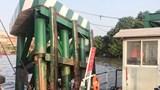 Phà Cát Lái vẫn hoạt động nhưng không chở xe trên 8 tấn vì bị tàu biển đâm