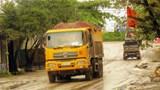 Thị trấn Phú Minh, huyện Phú Xuyên: Bất an vì xe ô tô quá tải hoành hành