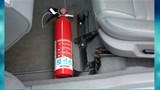 Bộ Công an đề xuất bỏ quy định ô tô 4 chỗ phải lắp bình chữa cháy