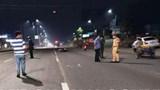 Ngăn nhóm đua xe trái phép, chiến sĩ cảnh sát cơ động bị tông trọng thương