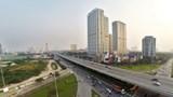 Dừng lắp tường chống ồn khu dân cư dự án đường vành đai 3 trên cao
