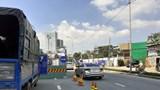 TP Hồ Chí Minh: Cấm xe lưu thông về đêm qua đường Phú Mỹ