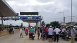 Đang tích cực điều tra vụ BOT Ninh Xuân bị tấn công bằng bom xăng