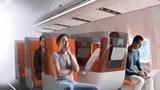 Ghế máy bay thiết kế mới để phòng lây nhiễm COVID-19