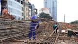 """Cầu vượt tại nút giao đường Hoàng Quốc Việt – Nguyễn Văn Huyên: Băng băng """"về đích"""""""