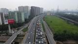 Hàng dài ô tô chen chúc trên cao tốc Pháp Vân - Cầu Giẽ trong ngày cuối kỳ nghỉ 30/4 - 1/5