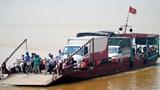 Bến thủy nội địa ngang sông Hồng hoạt động trở lại: Không lơ là phòng, chống dịch Covid-19