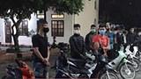 Đông Anh: Khởi tố 14 thanh thiếu niên đua xe trái phép