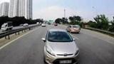 Đi ngược chiều trên cao tốc vì không biết đường, tài xế bị phạt nặng