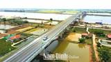 Thông xe cầu Thịnh Long nối đôi bờ sông Ninh Cơ