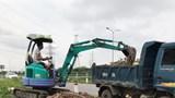 Từng bước đẩy lùi nạn đổ trộm phế thải xây dựng tại tuyến đường gom cao tốc Pháp Vân - Cầu Giẽ