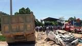 Tin mới nhất vụ xe tải đè chết 3 người trong ô tô con ở Thanh Hóa