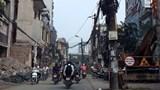 Ùn tắc, ô nhiễm môi trường tại đường Vũ Trọng Phụng