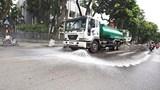 Hà Nội: Sẽ rà soát các tuyến đường đề xuất thực hiện tưới nước rửa đường