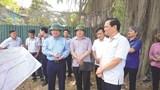 Thúc tiến độ dự án đường Tản Lĩnh - Yên Bài