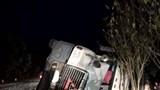 Tin mới nhất vụ thùng container đè bẹp xe limousine