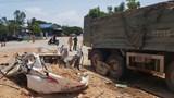 Bắt giam tài xế xe tải chở đất đá khiến 3 người chết ở Thanh Hóa