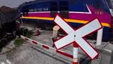 Cái kết cho người phụ nữ cố tình băng qua đường ray tàu hỏa