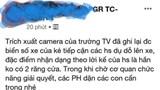 """Công an quận Hoàn Kiếm thông tin về vụ """"giả danh xe ôm công nghệ lừa đón học sinh"""""""