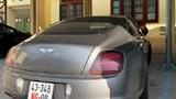 Xe sang Bentley biển ngoại giao có dấu hiệu chuyển nhượng trái phép