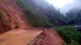 Mưa lũ gây sạt lở nhiều tuyến đường tại Lai châu