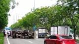 Tin tức tai nạn giao thông hôm nay 30/6: Xe tải lật gây tai nạn liên hoàn trên Đại lộ Mai Chí Thọ