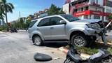 Nghệ An: Xe biển xanh gây tai nạn khiến một người nhập viện
