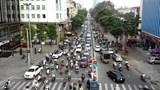 Lưu lượng giao thông tăng nhưng không ảnh hưởng đến chất lượng không khí Hà Nội