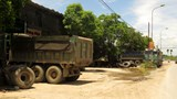 Cung đường nguy hiểm qua huyện Ứng Hòa