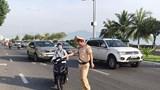 Cảnh sát giao thông Đà Nẵng đồng loạt ra quân xử lý vi phạm giao thông