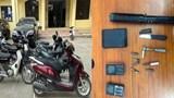 """Hà Nội: Ổ nhóm gây ra hàng loạt vụ trộm cắp xe máy """"sa lưới"""""""