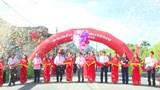 Huyện Ứng Hòa cắt băng thông xe tuyến đường liên xã