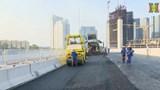 Gấp rút thi công cầu cạn Mai Dịch – Nam Thăng Long