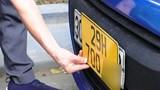 Đổi biển số xe kinh doanh và sang tên cho xe không có giấy tờ: Không lo bỏ lọt xe gian