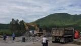 Hà Tĩnh: Sau gần 4 năm bỏ không, trạm thu phí Đèo Ngang được tháo dỡ