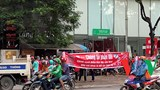Hà Nội: Hàng trăm tài xế Now đình công phản đối chính sách điểm tích luỹ