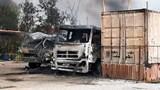Hải Phòng: Hỏa hoạn thiêu rụi kho chứa xăng dầu và 2 xe bồn