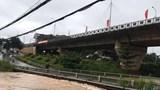 Hà Nội tạm cấm các phương tiện qua cầu Yên Sở do mưa lớn gây xói lở